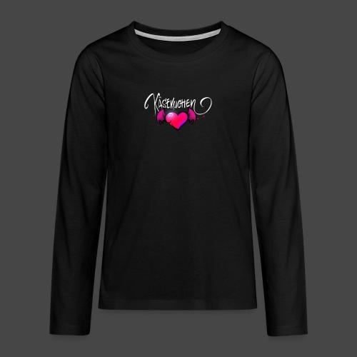 Logo and name - Teenagers' Premium Longsleeve Shirt