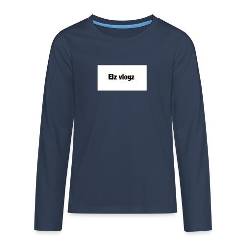 Elz vlogz merch - Teenagers' Premium Longsleeve Shirt