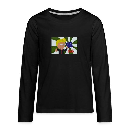 1960-luku - Teinien premium pitkähihainen t-paita