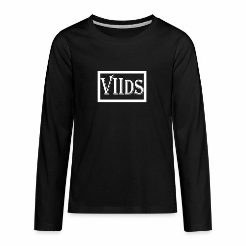 Viids logo - Koszulka Premium z długim rękawem dla nastolatków