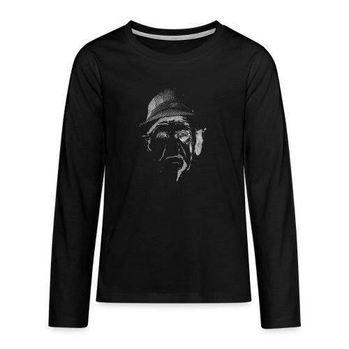face2 - Teenager premium T-shirt med lange ærmer