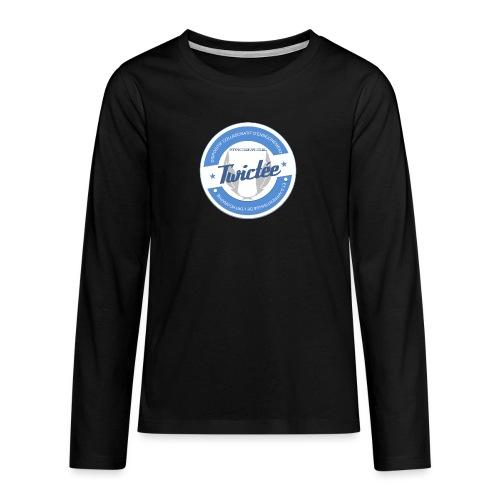 logo twictee - T-shirt manches longues Premium Ado