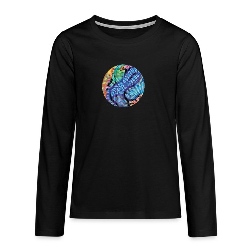 concentric - Teenagers' Premium Longsleeve Shirt