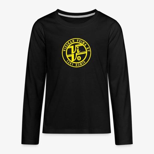 ViVoPAITA transparent - Teinien premium pitkähihainen t-paita