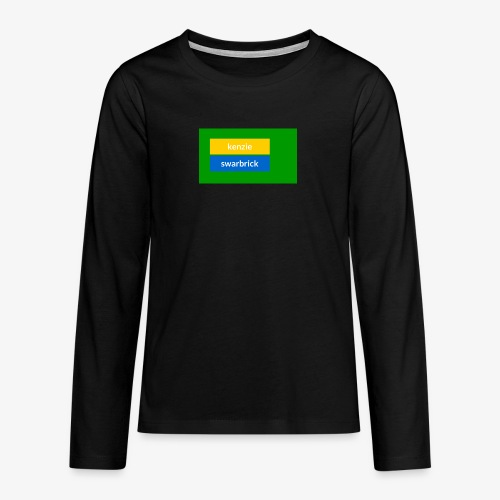 t shirt - Teenagers' Premium Longsleeve Shirt