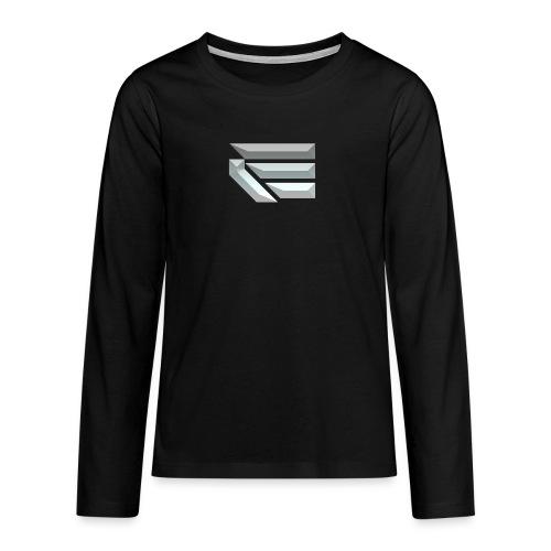 Edmondson's YouTube Logo - Teenagers' Premium Longsleeve Shirt
