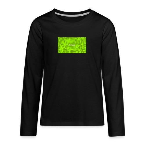 Youtube Triffcold - Teenager Premium Langarmshirt