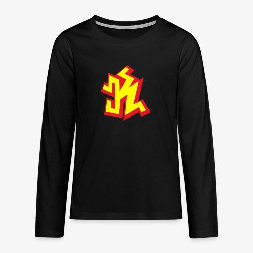 k png - T-shirt manches longues Premium Ado