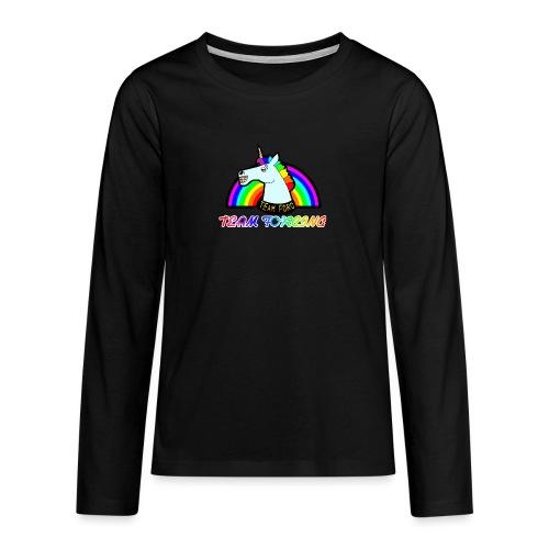 Logo officiel de la team forcing - T-shirt manches longues Premium Ado