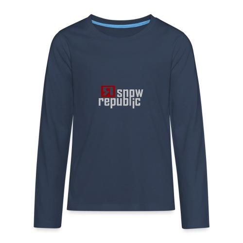 SNOWREPUBLIC 2020 - Teenager Premium shirt met lange mouwen