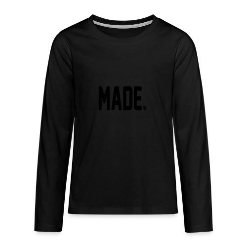 madesc - Långärmad premium T-shirt tonåring