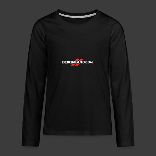 berciniauto - Maglietta Premium a manica lunga per teenager