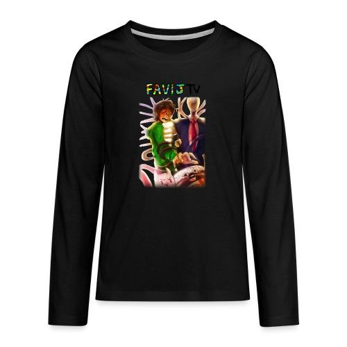 ShirtFinale png - Maglietta Premium a manica lunga per teenager