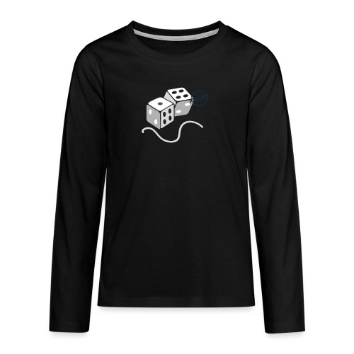 Dice - Symbols of Happiness - Teenagers' Premium Longsleeve Shirt