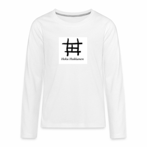 taulu 2 - Teinien premium pitkähihainen t-paita