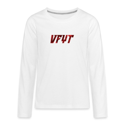 vfyt shirt - Teenager Premium shirt met lange mouwen