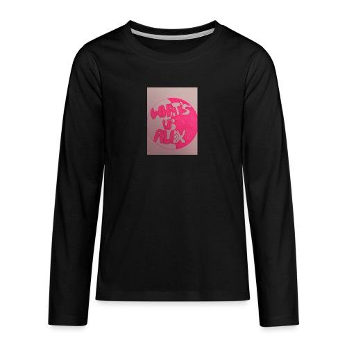 Alex bell - Teenagers' Premium Longsleeve Shirt