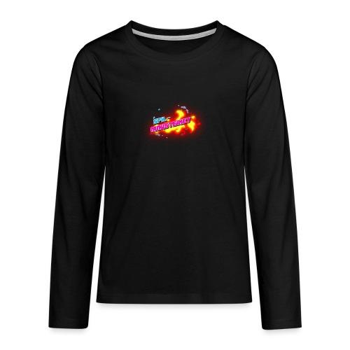 Spilministeriet - Teenager premium T-shirt med lange ærmer