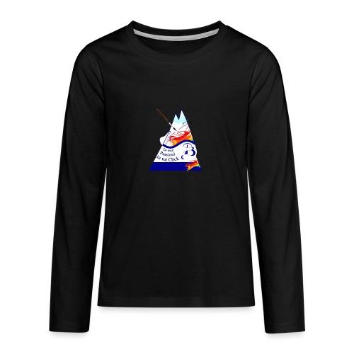 Logo colori - Maglietta Premium a manica lunga per teenager