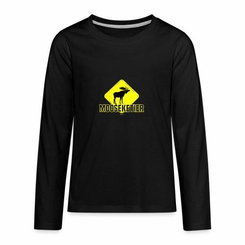 Moosketier - Teenager Premium shirt met lange mouwen