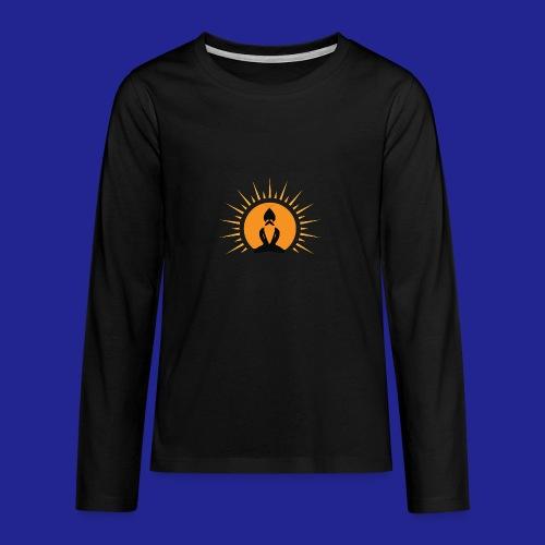 Guramylyfe logo no text black - Teenagers' Premium Longsleeve Shirt