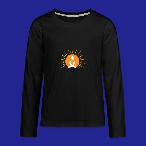Guramylyfe logo no text - Teenagers' Premium Longsleeve Shirt