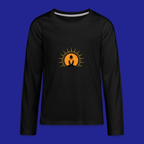 Guramylife logo black - Teenagers' Premium Longsleeve Shirt