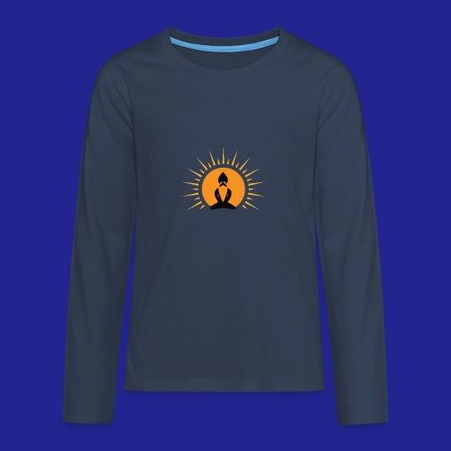 Guramylife logo black - Teenagers' Premium Longsleeve Shirt