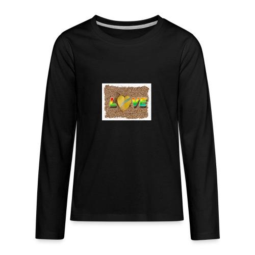 love,madinina - T-shirt manches longues Premium Ado