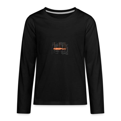 DIAGRAMME - T-shirt manches longues Premium Ado