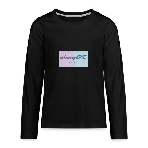 ebuyot - Maglietta Premium a manica lunga per teenager