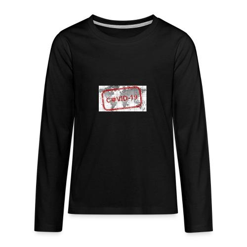 covid 19 - Teenager Premium Langarmshirt