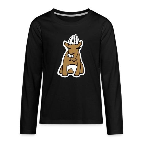 Scheissbock - Teenager Premium Langarmshirt