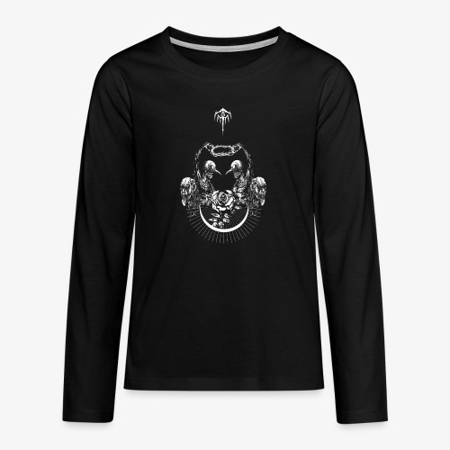 Nocturn design 2 - T-shirt manches longues Premium Ado