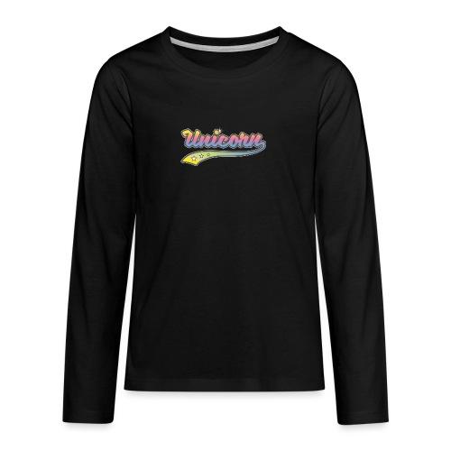Unicorn Sport - T-shirt manches longues Premium Ado