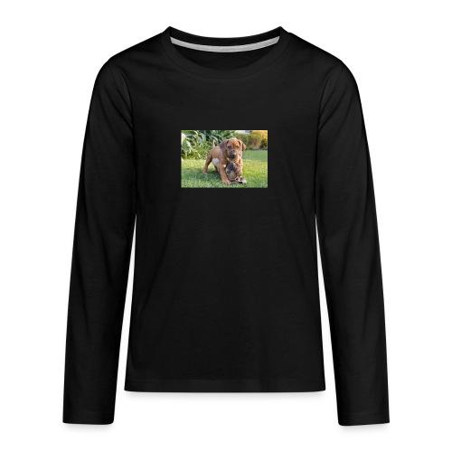 adorable puppies - Teenagers' Premium Longsleeve Shirt