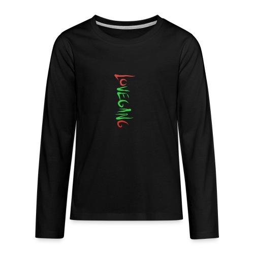 Lovegang - Teinien premium pitkähihainen t-paita