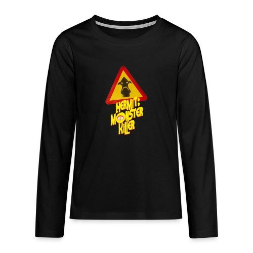 2 png - Långärmad premium T-shirt tonåring