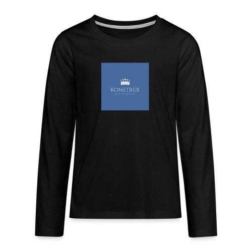 konstrex - Teenager premium T-shirt med lange ærmer