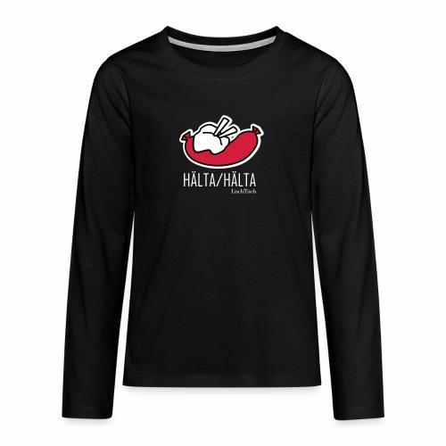 Hälta Hälta - Långärmad premium T-shirt tonåring