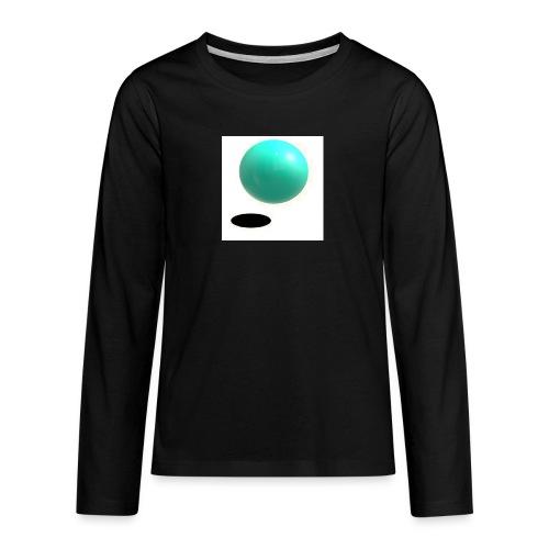 sing - Camiseta de manga larga premium adolescente