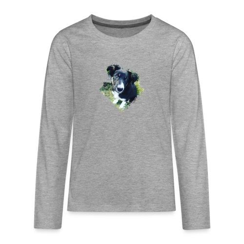 colliegermanshepherdpup - Teenagers' Premium Longsleeve Shirt