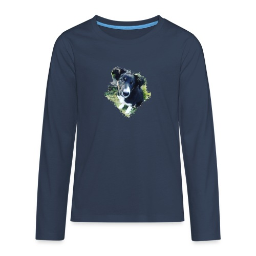 colliegermanshepherdpup - Teenagers' Premium Longsleeve Shirt