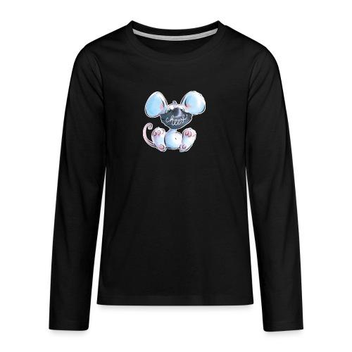 Maskenmaus - Teenager Premium Langarmshirt