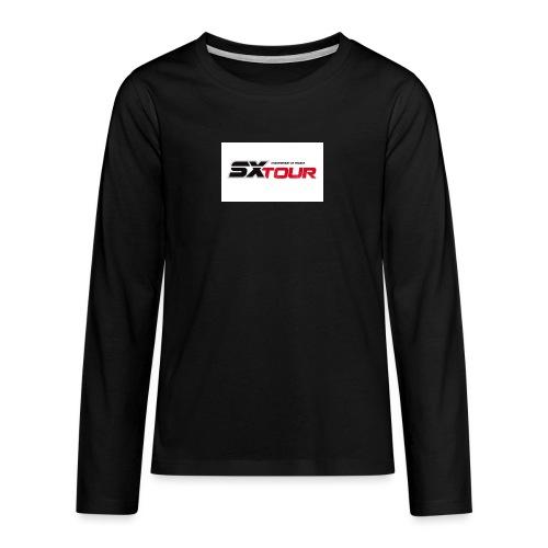 sx tour - T-shirt manches longues Premium Ado
