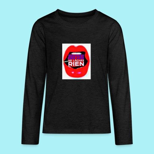 Bouche sauvez des vie, Ne lachez rien - T-shirt manches longues Premium Ado