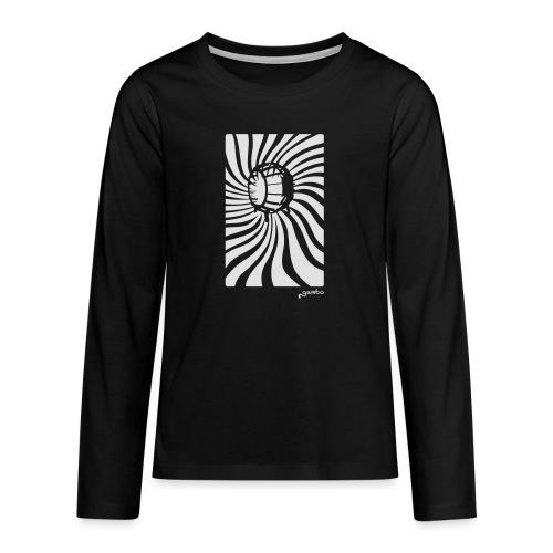 wirbel - Teenager Premium Langarmshirt