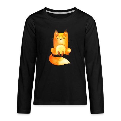 Forest2 - Teenager Premium shirt met lange mouwen