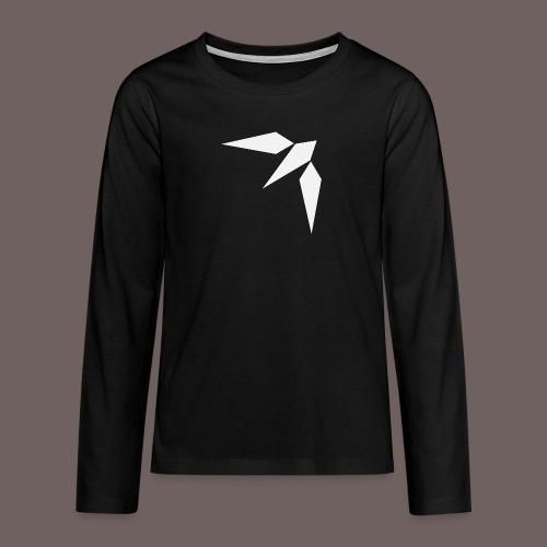 GBIGBO zjebeezjeboo - Rock - Hirondelle - T-shirt manches longues Premium Ado
