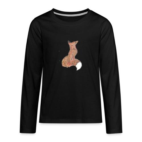 zorro - Camiseta de manga larga premium adolescente